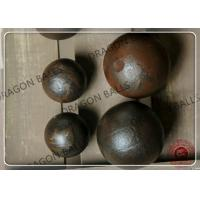 Quality Air Hammer Forged Steel Grinding Balls 20mm 25mm 40mm Customized Diameter for sale