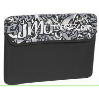 """Quality 14"""" Reversible Laptop Sleeve With Pocket / Neoprene Computer Bag for sale"""