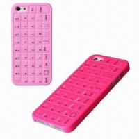 Buy cheap Cellphone Cases for iPhone 5, Keyboard PC Case, Bump Feeling, Comes in Various from wholesalers