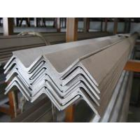 China Unequal / Equal Long Steel Angle of custom cut ASTM A36, EN 10025 S275 Mild Steel Products on sale