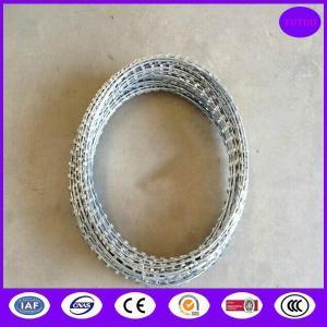 Quality Concertina Razor Wire Coil 450mm x 8mtr for sale