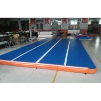 Quality 2018 Inflatable Tumbling Floating Yoga Mat  Gymnastics Yoga Mat Inflatable Air Mattress for Gym for sale