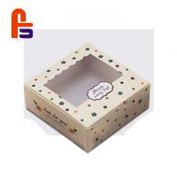 Quality Cute Patterns Non Toxic Material For Cake And Candy Paper Food Packing Box for sale