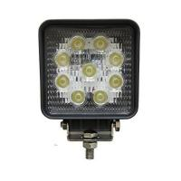 "Quality Square 4"" 27W Led Work Light Flood Beam Driving Fog Lights off road Lights 10-30V IP67 Thicker profile for sale"
