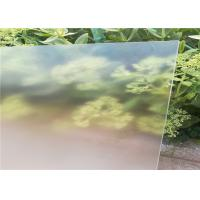 Quality Ultra White Patterned Tempered Glass , Solar Photovoltaic Glass Low Iron Content for sale
