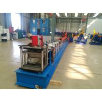 Quality Tube Roll Former Downpipe Roll Forming Machine With Double Head Decoiler for sale