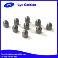 Quality Cemented carbide buttons & inserts for mining tools D types parabolic button for sale