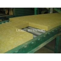 China Rockwool Fireproof Insulation Roof Panel / Fireproof Glass Wool Insulation on sale