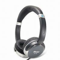 Quality Wired Deluxe Hi-fi Monitor Stereo Headphones with 3.5mm Stereo Plug and 40mm Driver Unit for sale