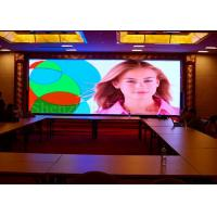 Quality Iron Cabinet Led Full Color Screen , P2.5 Indoor Led Video Wall 160000 Resolution for sale