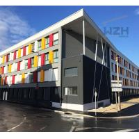 China Light steel frame house prefab container house apartment building on sale