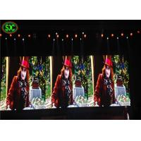 China Video Mobile LED Indoor Advertising Screens , LED Video Wall Panels 4mm Pixels on sale