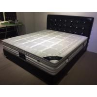 Multi Size Fireproof Euro Top Mattress Topper Vacuum Compressed Packaging