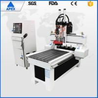 China High Stable Wood Carving Diy Cnc Machine , AC220V / 380v 4.5kw Small Computerized Woodworking Machines on sale