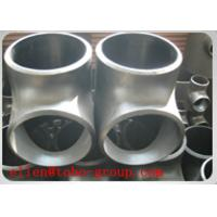 Quality TOBO STEEL Group TEE ASME B16.9 BEVELED END SCH 10S SS SUPER DUPLEX ASTM A815 GRADE UNS S32750/ UNS S32760 for sale