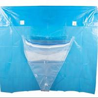 Quality Under Buttocks Disposable Surgical Drapes Fluid Collection Pouch Absorbent Prevention Fabric for sale