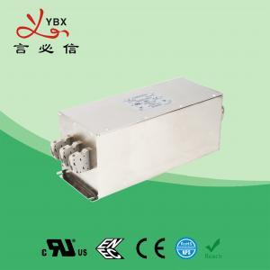 Quality Yanbixin 60A 250V 480VAC RFI Power Filter , Industrial Power Line RFI Filter for sale