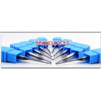 Quality 0.6 UM Grain Size End Milling Cutter , Long Neck Square Solid Carbide End Mills for sale