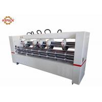 Quality Creasing Slitter Scorer , Automatic Corrugated Cardboard Thin Blade Slitter for sale