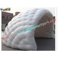 Quality Dome Inflatable Party Tent With Half Moon Building For Commercial for sale