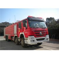 Quality Darley Pump International Fire Truck , Lengthen Cab Fire Fighting Vehicles for sale