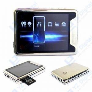 China 2.8  Big Screen Metallic Case MP3 MP4 Video Audio PLAYER on sale