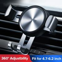 China car vent phone holder  Automatic Clamping Wireless adjustable cell phone holder for car air vent on sale