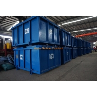 China Drilling Waste Management Solids Control Mud Cuttings Skips on sale