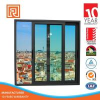 Trade Assurance Covered Aluminum Frame Sliding Glass Window For Hotel Project