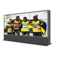 China Floor Standing 46 Inch LCD Video Wall , Outdoor Digital Advertising Screen on sale