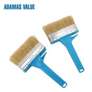 Quality Ceiling Brush Natural Bristle Paint Brush  Boild Pure Bristles 44mm Length for sale