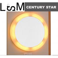 Buy cheap Backlit mirror ,Wall mirror in round shape, Bedroom Mirror ,Bath mirror with from wholesalers