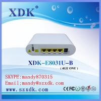 Buy cheap 4 Fast Ethernet Ports GEPON ONT For FTTB Solution from wholesalers