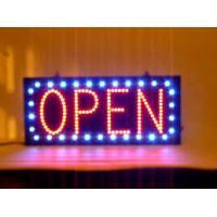 Quality Single Sided LED Open Sign Indoor Fluorescent Sign Window Hanging Display for sale