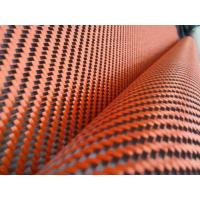 Quality ORange carbon hybrid cloth for sale