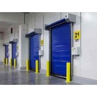 Quality 1176pa Wind Resistance High Speed Freezer Door 1.5mm Thick Staninless Steel for sale