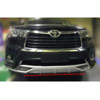 Quality TOYOTA HIGHLANDER 2014 2015 KLUGER Front Bumper Guard and rear Bumper Guard for sale