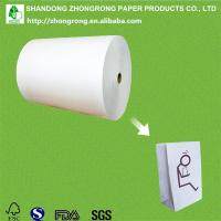 Quality PE coated paper for vomit bag/barf bag for sale