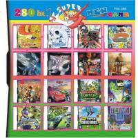 China 280 in 1 280 in one Multi games Card for DS/DSI/DSXL/3DS Game Console on sale