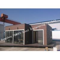 Quality European Style Modular Prefab Container House For Accommodation , Quick Assembly for sale
