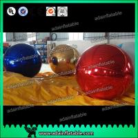 Quality 1m Inflatable Mirror Ball With Reflection Effect For Wedding Decoration for sale