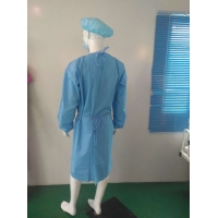 Quality PE Cast Film Disposable Isolation Gowns for sale