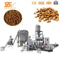 Quality Double Screw Dry Pet Dog Food Extruder / Animal Food Pellet Machine for sale