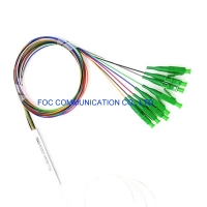 Quality FTTX 1×8 Fiber PLC Splitter 1650nm CATV With LC APC Connector for sale