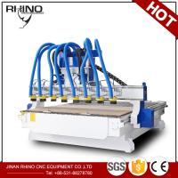 Quality 8 Heads Woodworking CNC Router Machine 380V 3 Phase Type CE Approval for sale