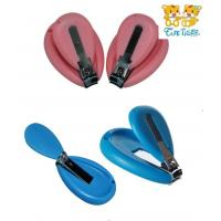 China baby nail clippers with file, baby nail scissors on sale