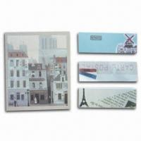 Quality Notepad and Memo Stick, N-time Sticky Note, Easy to Leave Message, OEM Orders Welcomed for sale