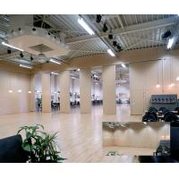 China Acoustic Room Dividers / Soundproof Movable Wall Dividers with Sliding Track Wheels on sale