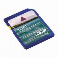 Quality SDHC Card for Cameras with 100% Full 1GB Capacity and Low Battery Consumption for sale