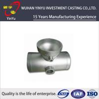 China Stainless / Carbon / Alloy Steel Pipe Fittings Metal Casting Products Lightweight on sale